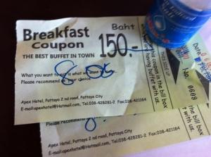 150B自助早餐5