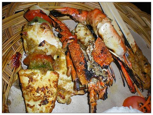 峇里金巴蘭烤海鮮2