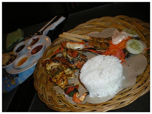 峇里金巴蘭烤海鮮3