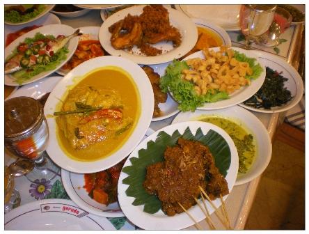 雅加達巴東菜1