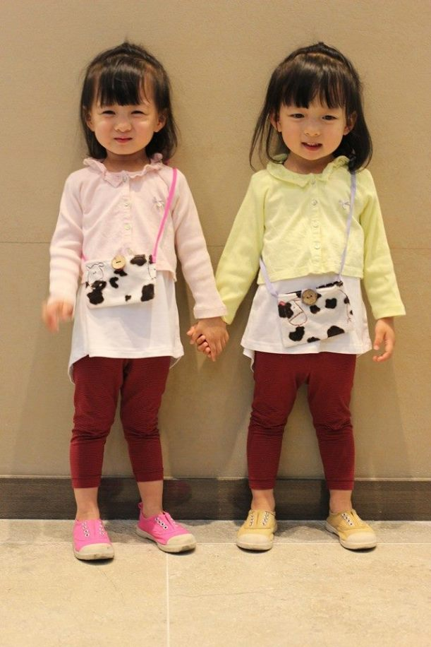 twins milka DIY bag