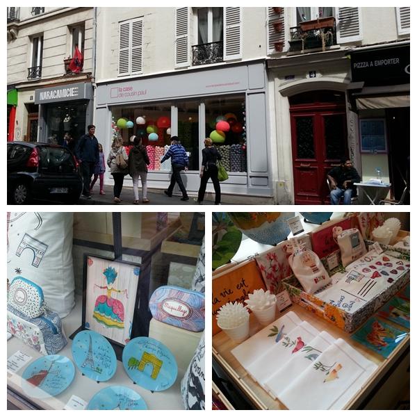 collage-paris_Sacre Coeur de Montmartre