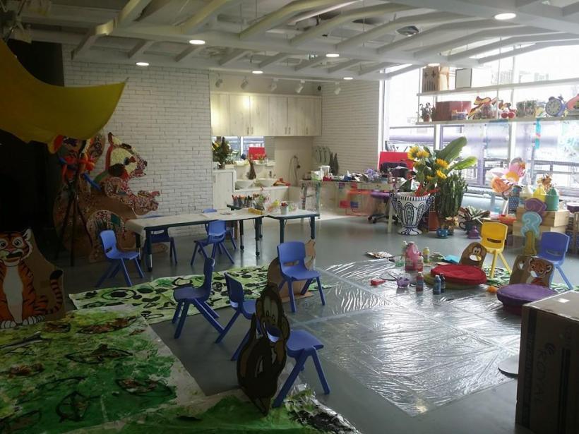 這樣的 Art Room 莫說小孩,連我見到都興奮到想大叫!