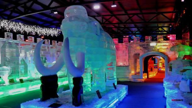 重新的冰雕展品,已經準備好!