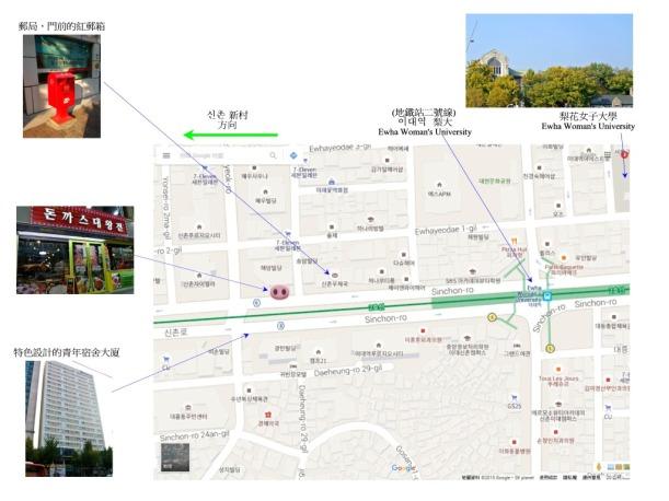 炸大豬扒 map